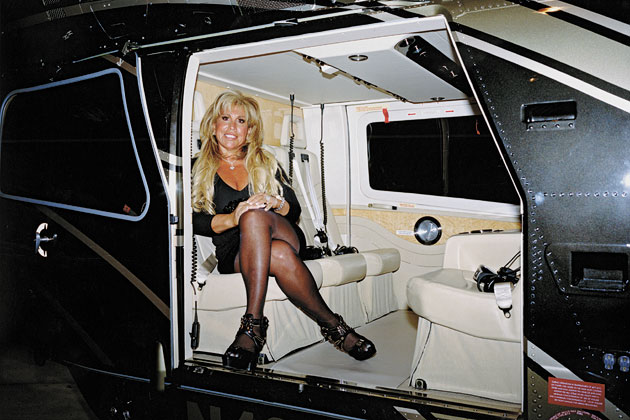 Ms. Lynn Tilton, Billionaire owner of Mesa Arizona based MD Helicopters & Patriarch Partners
