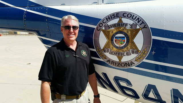 Retired Glendale Police Officer Jeff Steele was piloting the Cochise Sheriff's helicopter that went down New Year's Eve 2014. He and the mechanic on board, Mark Hansen were fatally injured.
