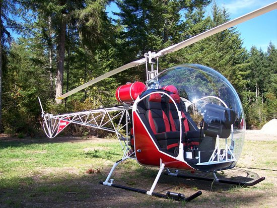 Formerly known as a Baby Bell a Safari helicopter similar to this can be purchased for around $100,000