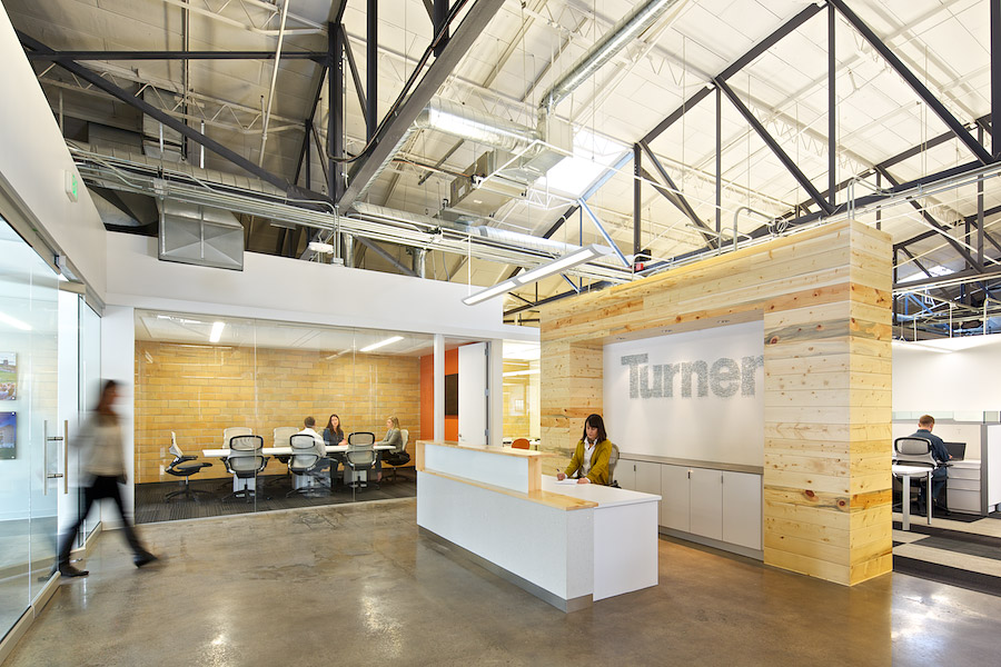 Gensler wins two iida awards for turner construction for Office interior contractor
