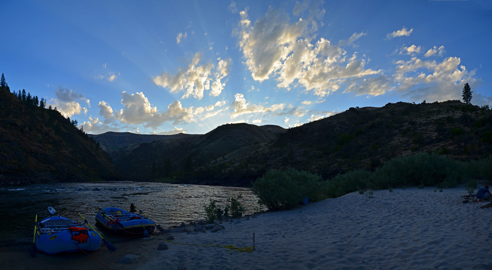 Salmon River Sunset