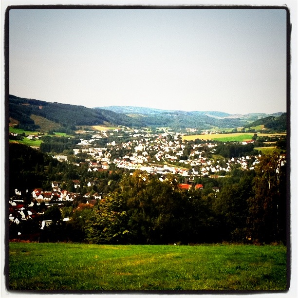 I dedicate my most productive writing day ever to my hometown of Plettenberg, which most of you probably know as the Paris of the Sauerland.