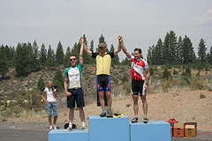 While I went camping on the coast (more coming later), my buddy and colleague Patrick (aka Peaches) kicked butt at the Cascade Classic cycling race. I think he took third overall, which is a mighty accomplishment. More at his personal blog, Penny for a Thought. Congrats Peaches.