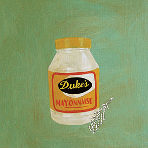 """Camille's grandmother loved Duke's mayonnaise and costume jewelry,"" Amy Cameron Evans, 2008."
