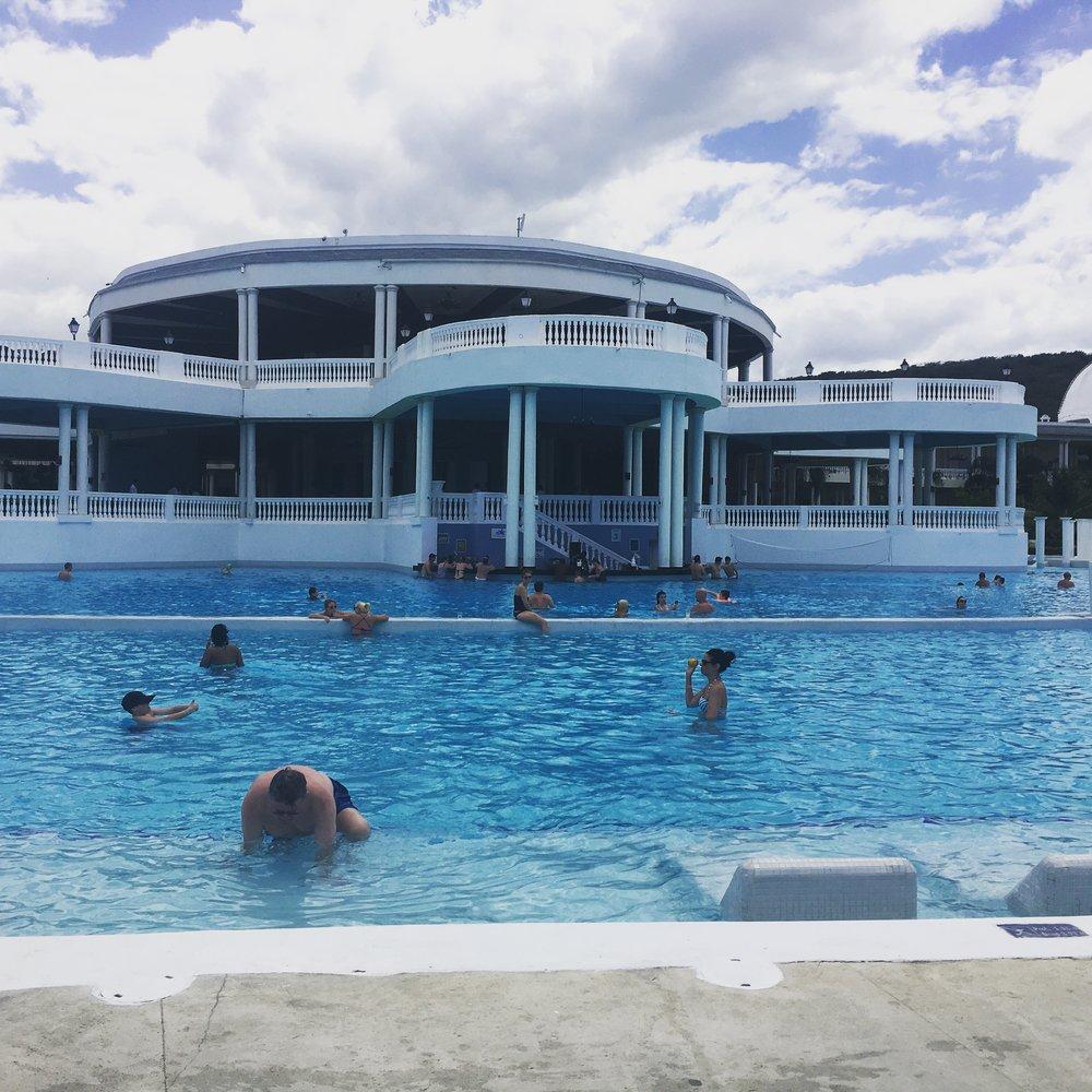 Bar inside the pool