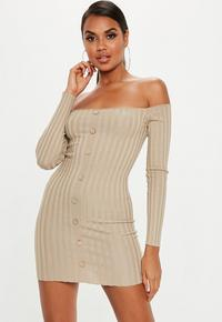 sand-ribbed-bardot-button-knitted-mini-dress-1.jpg