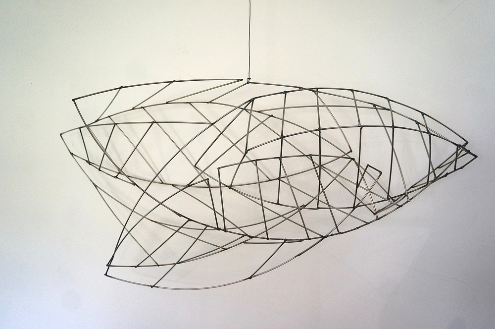Leaves/Fish Drawing 1  , 2015  Steel  Joan and Fred Slafsky Collection