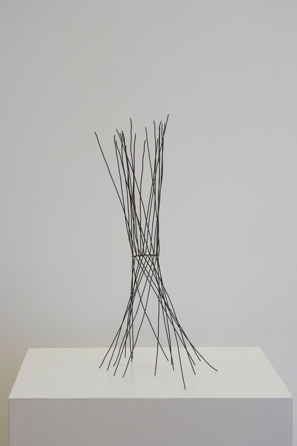 "Drawing Object: Spin  , 2015  Steel, 16"" x 9"" x 9"""