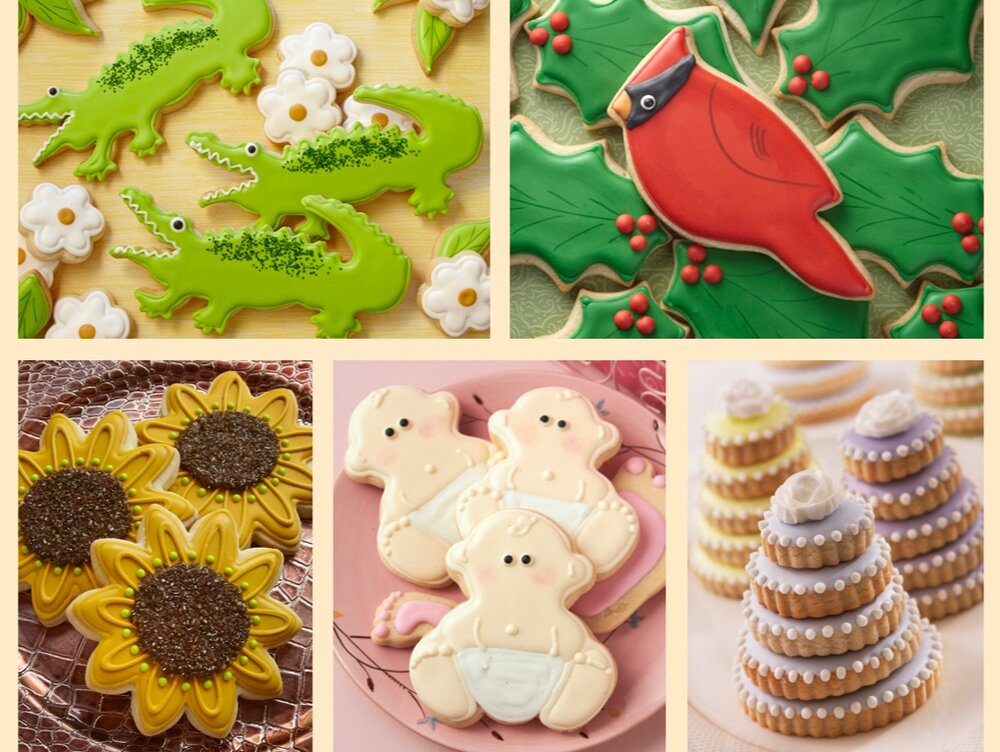 001_alligator_cardinal_sunflower_baby shower_wedding cakes cookies.jpg