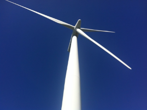 West Wind turbine, Wellington