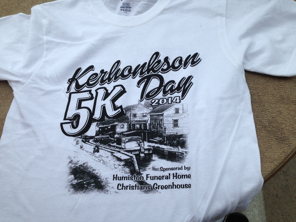 Our 5k t-shirts!
