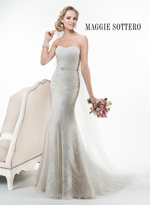 """""""Abigail"""" by Maggie Sottero"""