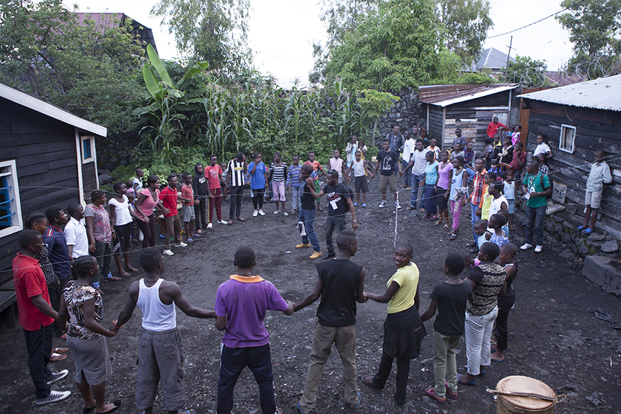 Workshops in Organisation A.S.O. in Goma