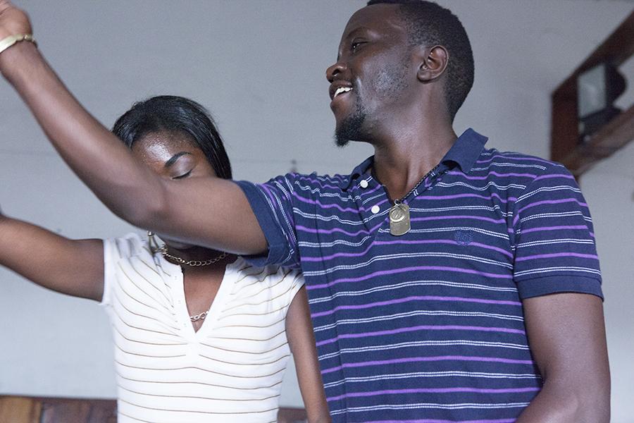 Tänzer bei den Proben, Goma