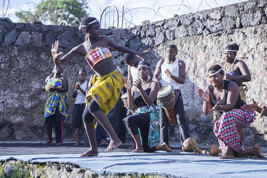 Tanzaufführung, Goma