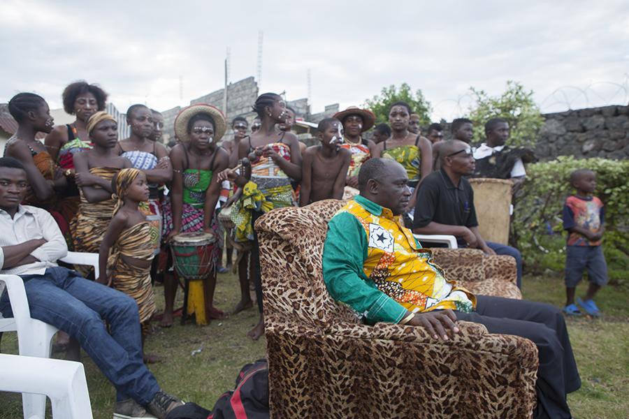 Kulturelle Woche in Goma