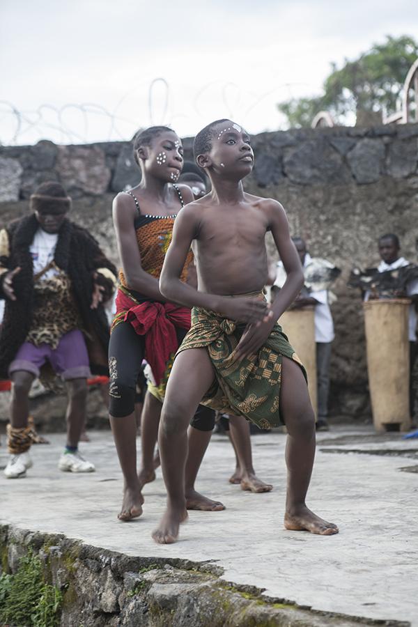Abschlussveranstaltung der Kulturellen Woche, Goma