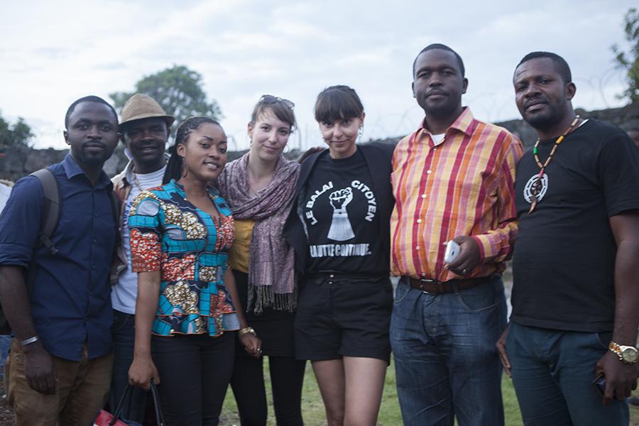 """Mit dem Team """"Sangoa"""" in Goma"""