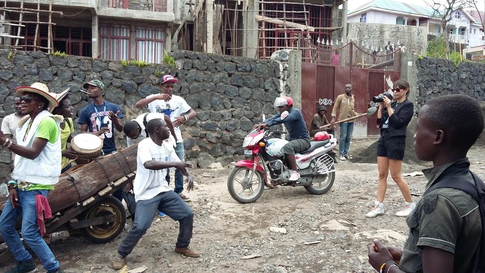 Videodreh, Goma