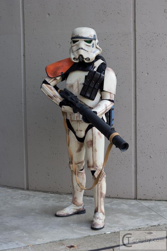 Sandtrooper, Ohayocon 2013