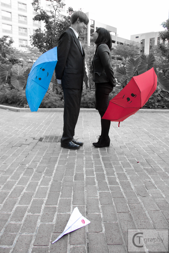 The Red Umbrella + Paperman