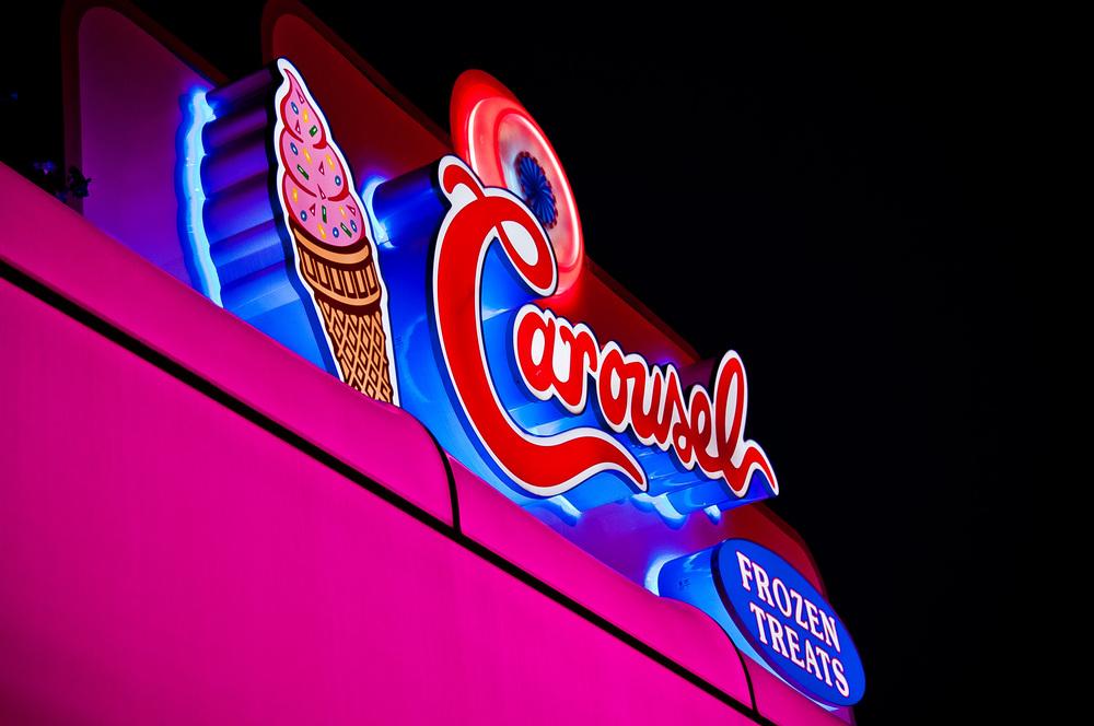 Carousel Ice Cream Stand - Nikon D90