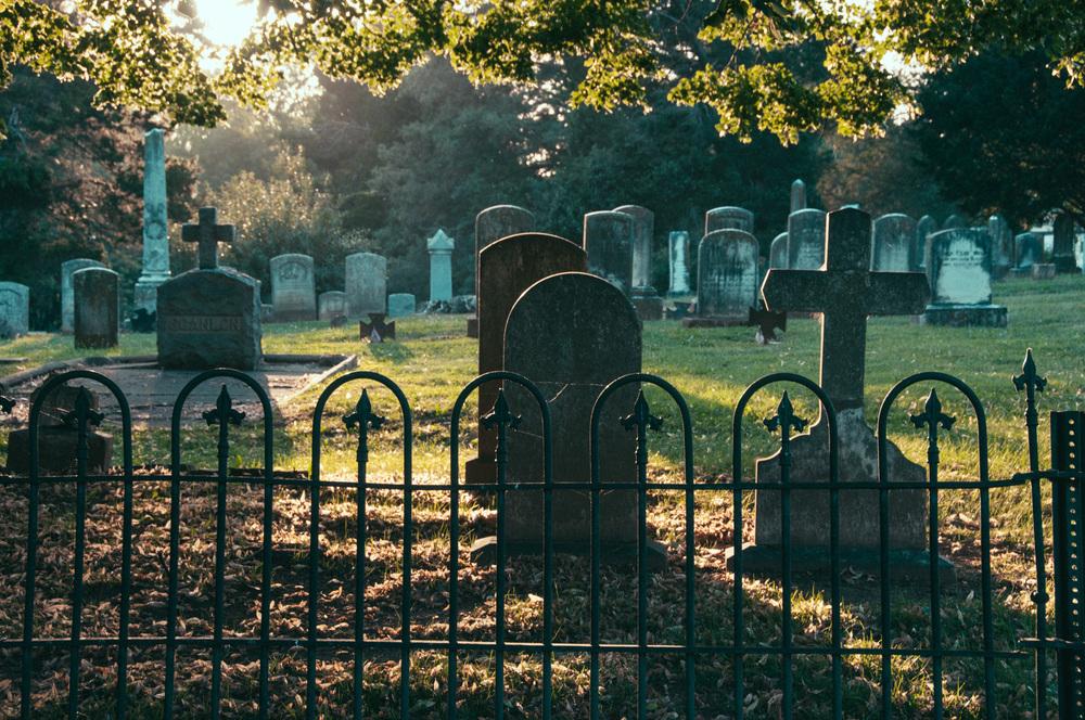 Cemetery- Nikon D90