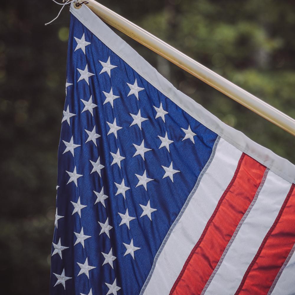 Flag - Olympus OM-D E-M5, 75mm, f/2.0, ISO 200, 1/800 sec