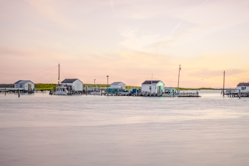 TANGIER ISLAND, SUNRISE & SUNSETS