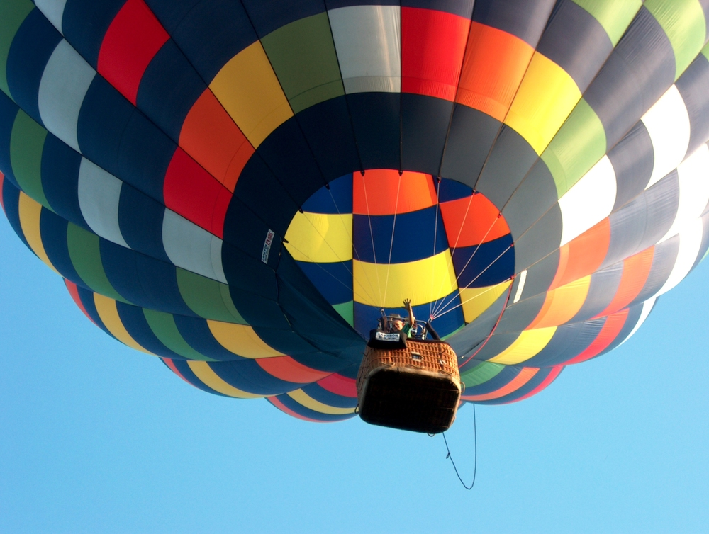 Hot air balloon festivals not only exist; they're awesome.