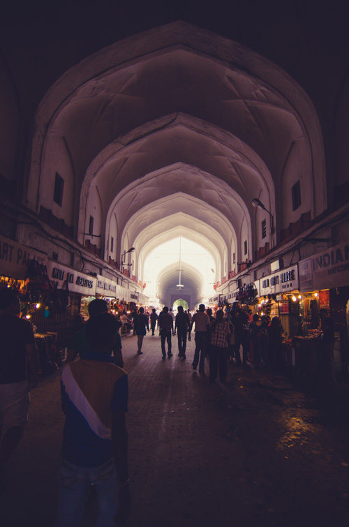 Chatta Chowk (covered bazaar)