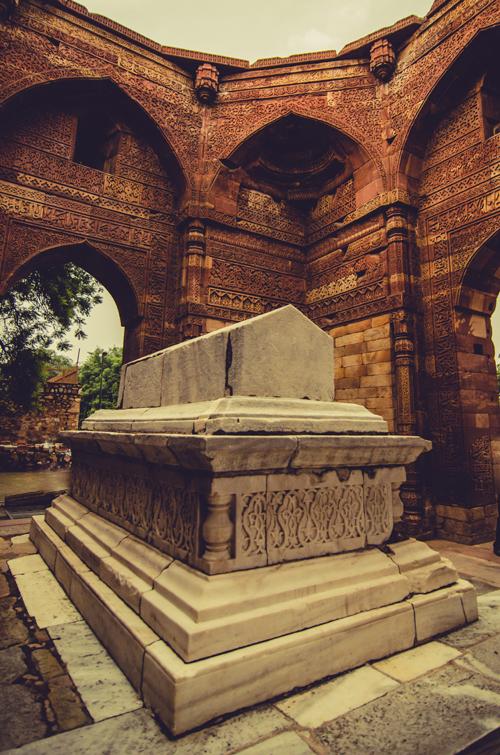 Iltutmish Tomb - Qutub Minar complex