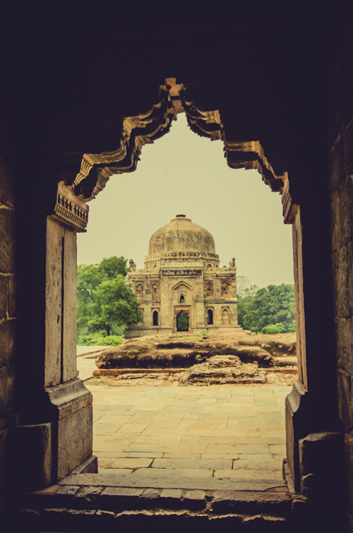 View of Sheesh Gumbad