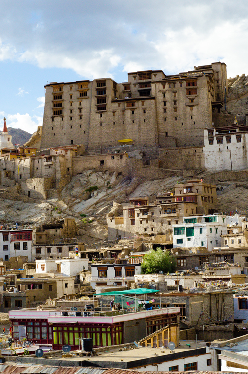 Old Town with Leh Palace on the ridge above