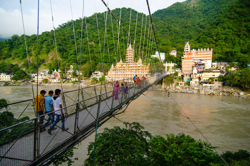 Laxman Jhula bridge