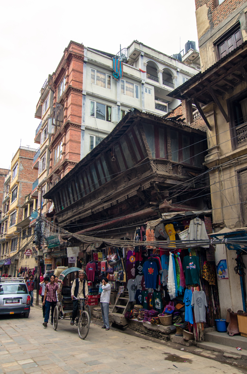 Apparently this old building owns the oldest windows in Kathmandu