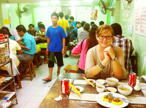 At 999 Shan Noodle Shop.