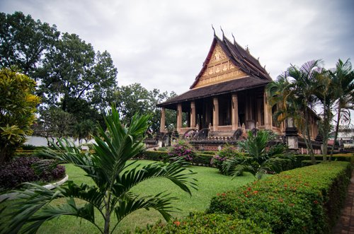 Haw Phra Kaew (originally built 1565, current structure rebuilt 1936-42).