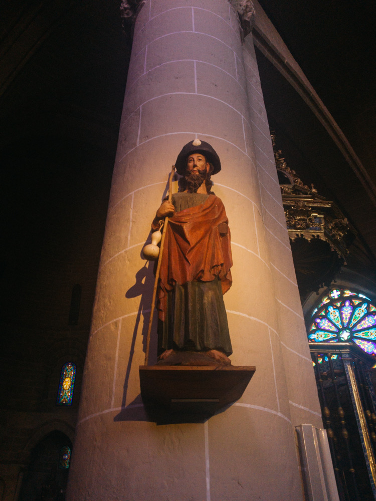 Saint James at San Pedro de la Rua, Estella
