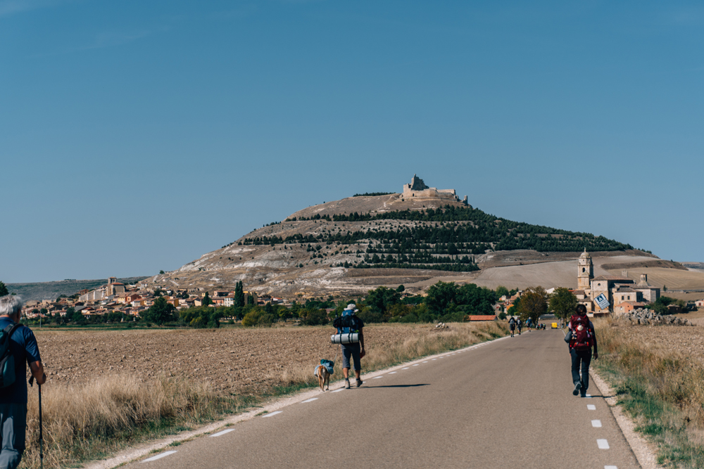 Coming into Castrojeriz