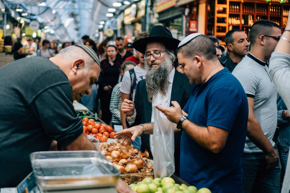Mahane Yehuda market in West Jerusalem