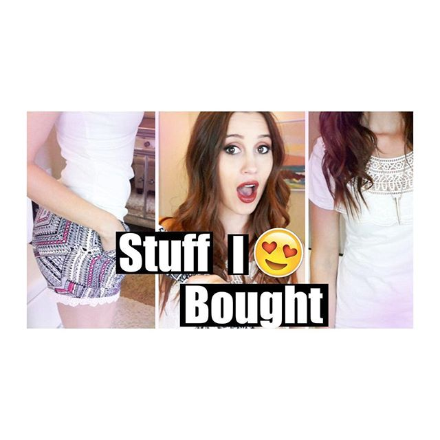 New video for those of you who love fashion!! Yay! #haul #springhaul #summerhaul #shopping #stuffibought #video #youtubehaul #clothes link in Insta bio