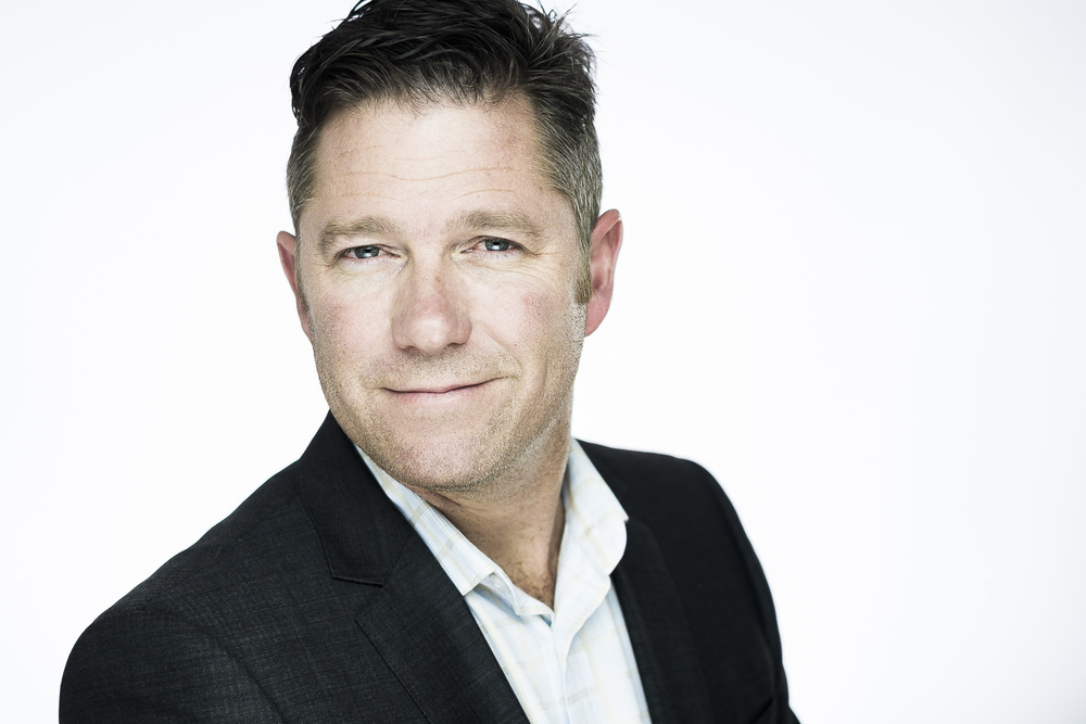 A professional executive headshot/portrait session for Scott, an adelaide based promoter and speaker by andre Goosen for boom headshots in adelaide