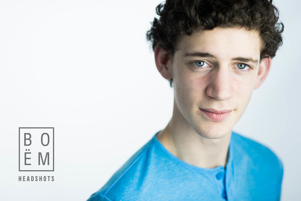 A Professional headshot session for Benji, a young actor here in Adelaide by Andre Goosen for Boem Headshots. The premier headshot photographer in Adelaide.