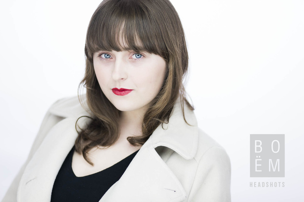 A sneak preview of my headshot session with Caitlin, a young aspiring actress in Adelaide.
