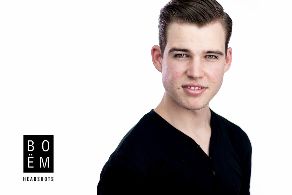 A quick look at my professional headshot session with Dylan, an actor in Adelaide who needed some updated images.