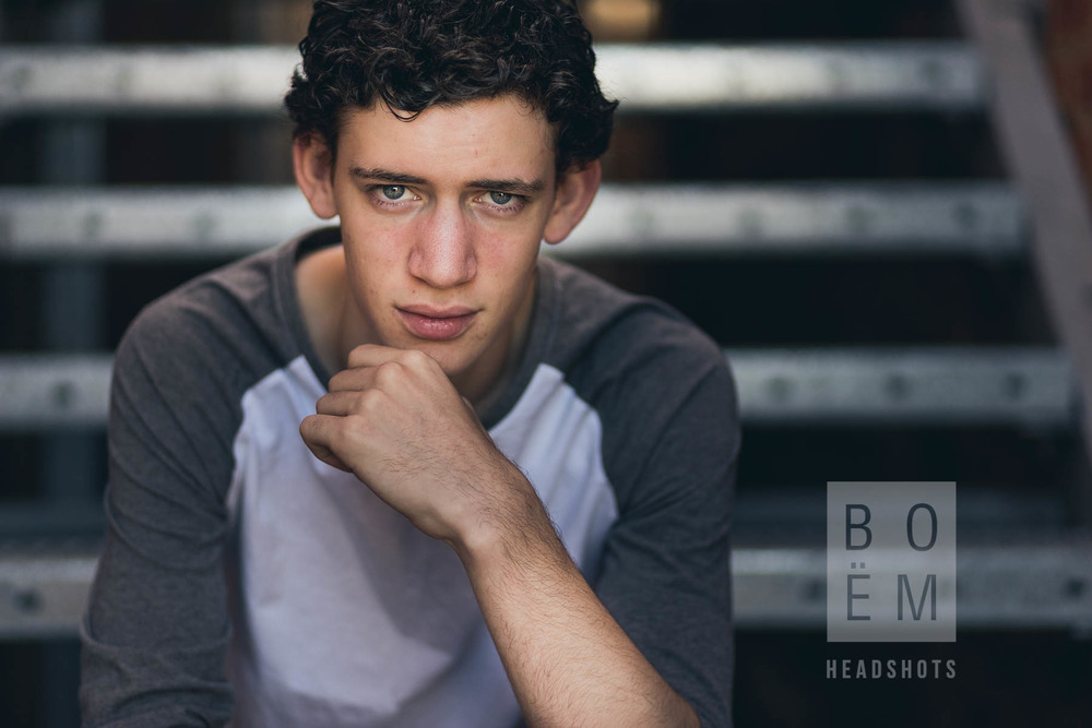 A quick look at my headshot session with Benji, a young actor here in Adelaide.