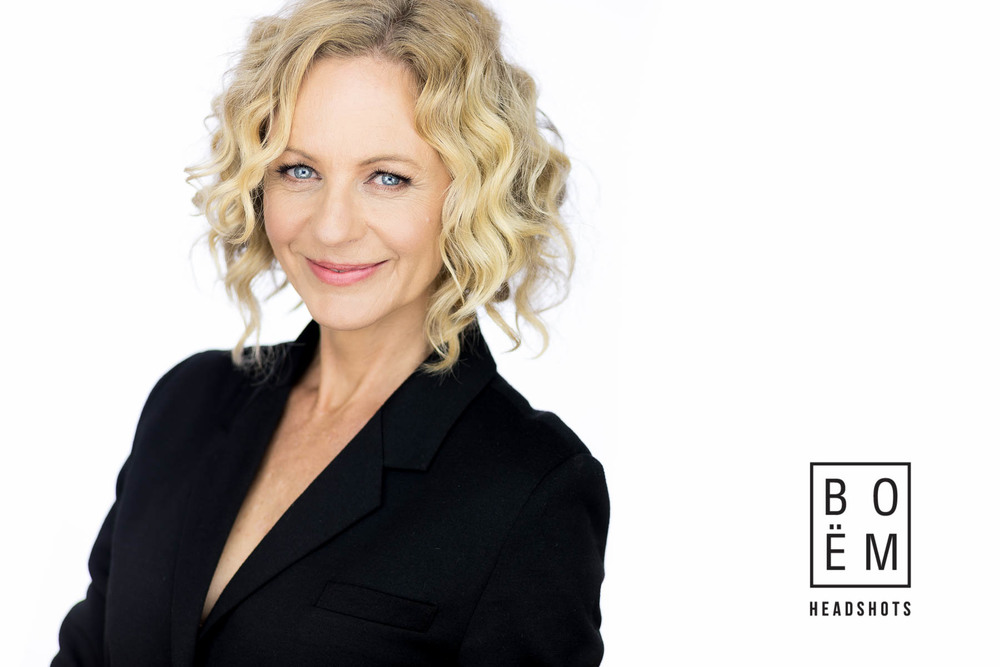 A look at Lisa's executive headshots in the studio by Andre Goosen for Boem Headshots, The Premier Headshot and Portrait Photographer