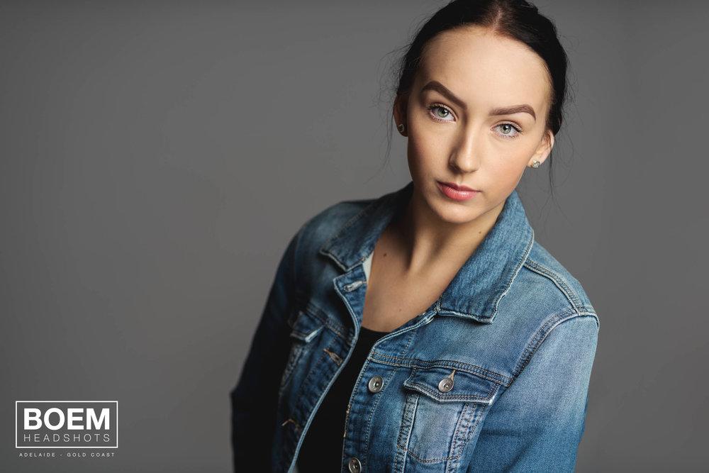 Preview :: Ellie :: Dancer Headshots :: Adelaide