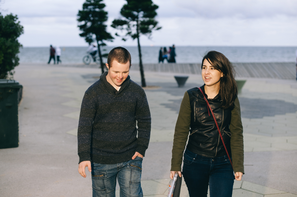 On the Promenade at StKilda Beach